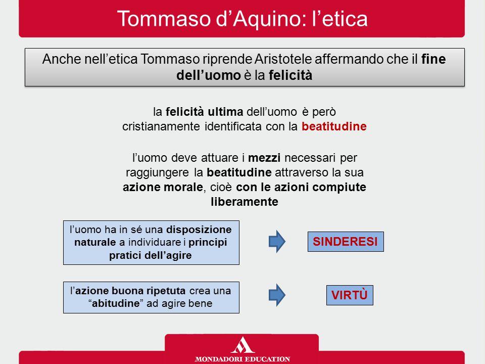 Tommaso d'Aquino: l'etica