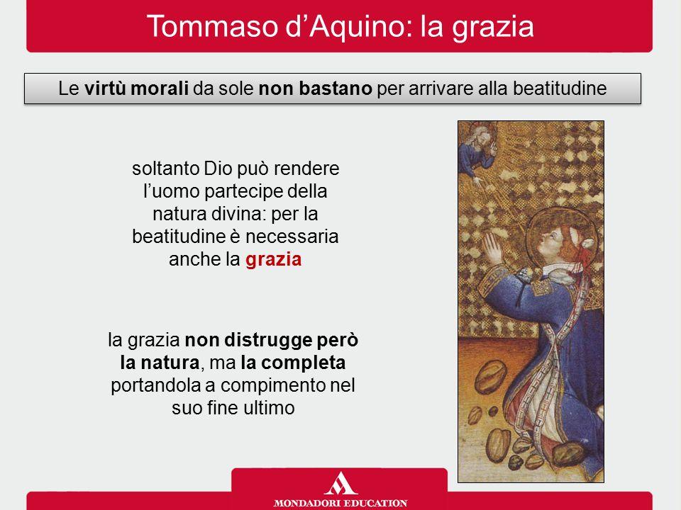 Tommaso d'Aquino: la grazia