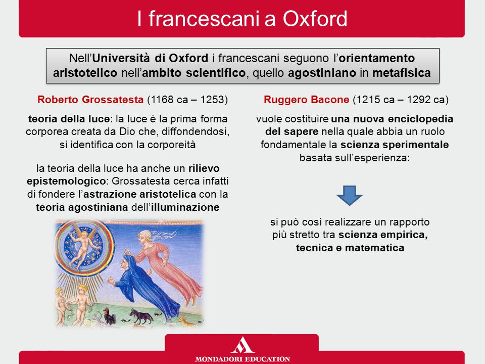 I francescani a Oxford