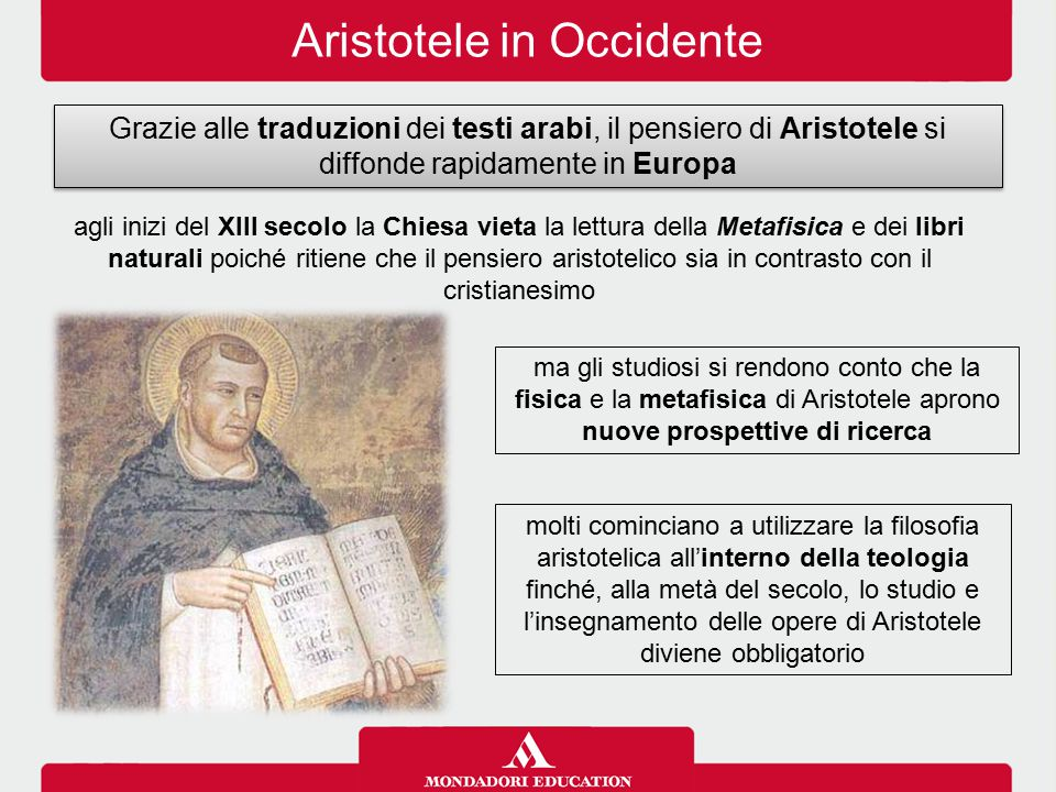 Aristotele in Occidente