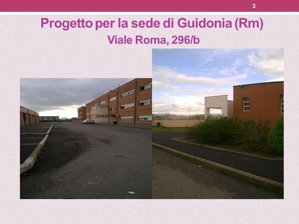Progetto per la sede di Guidonia (Rm) Viale Roma, 296/b