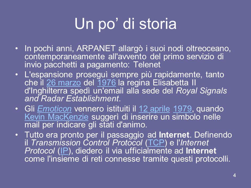 Internet e reti concetti base struttura applicazioni for 2 pacchetti di garage di storia