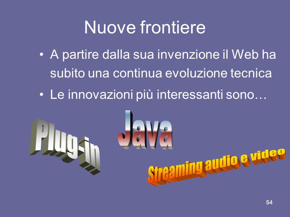 Streaming audio e video