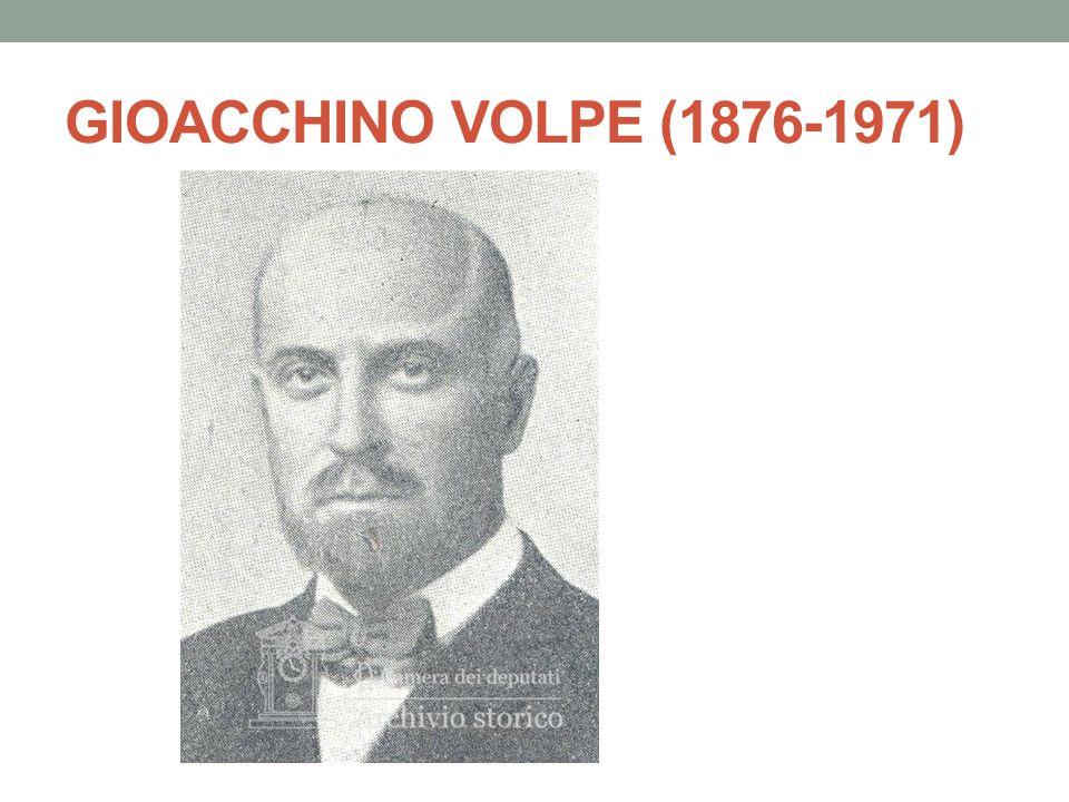 GIOACCHINO VOLPE (1876-1971)