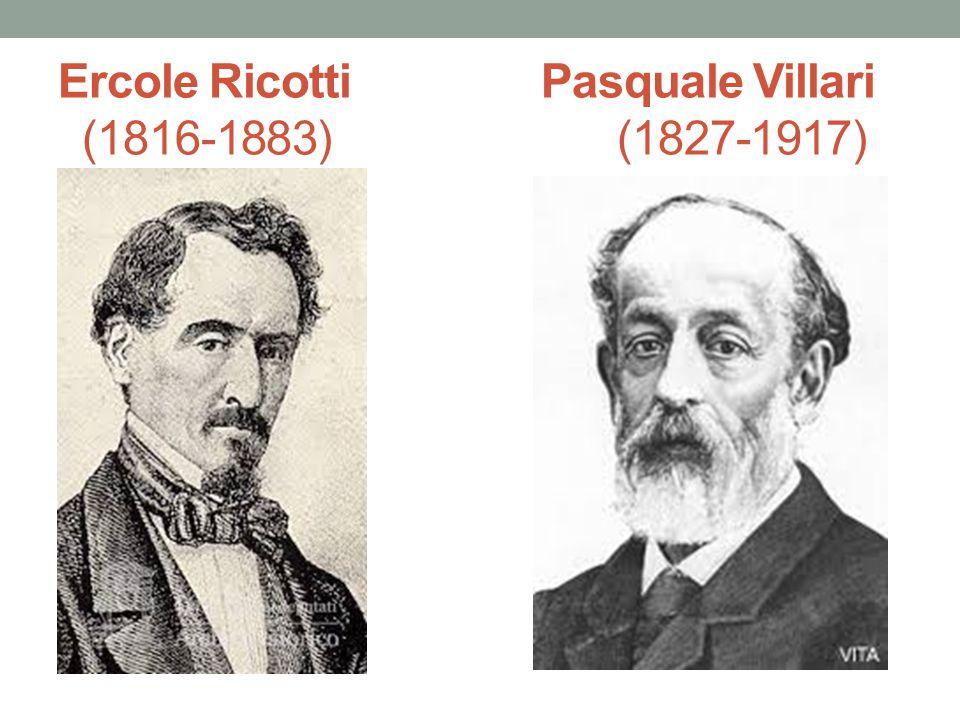 Ercole Ricotti Pasquale Villari (1816-1883) (1827-1917)