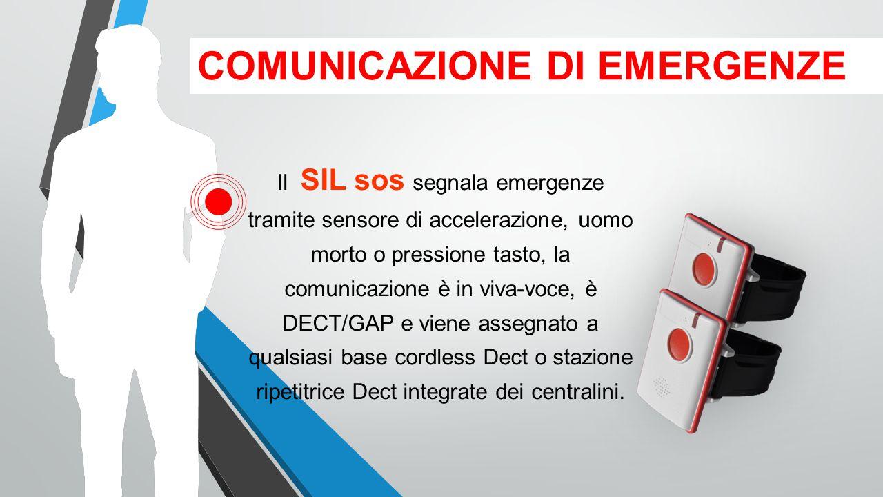 COMUNICAZIONE DI EMERGENZE