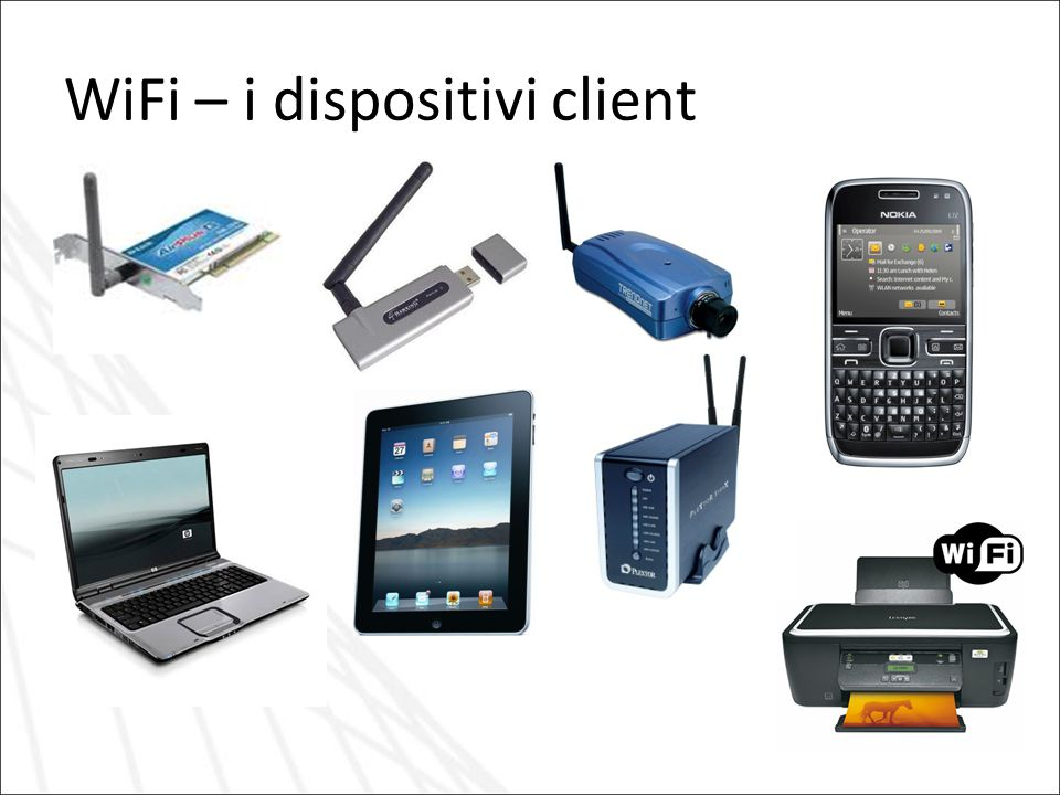 WiFi – i dispositivi client