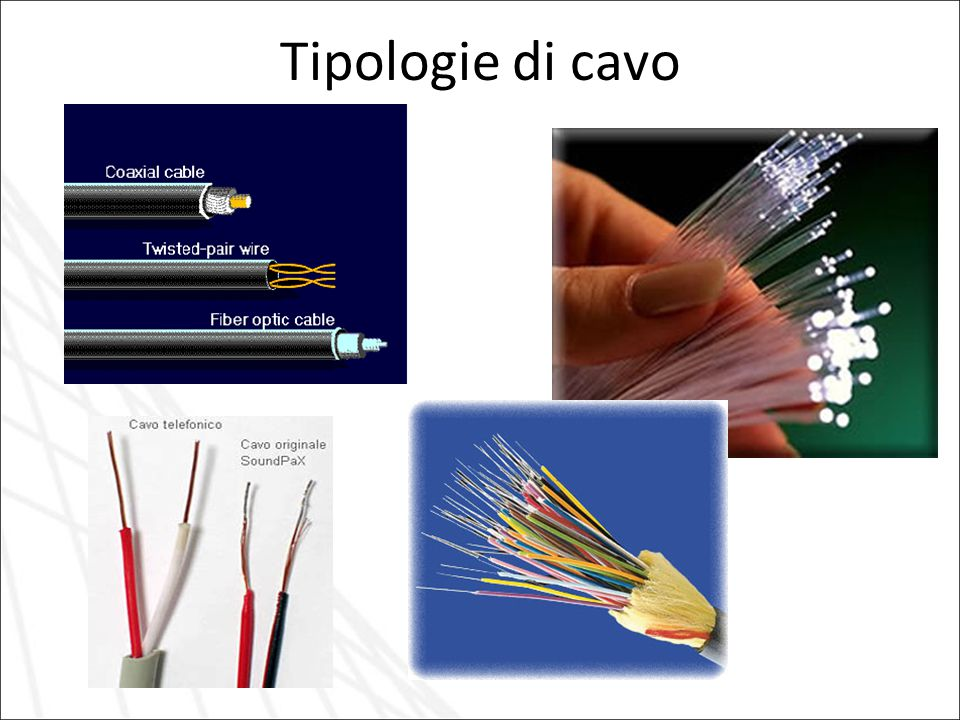 Tipologie di cavo