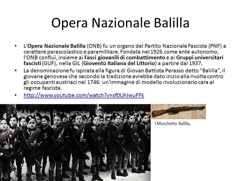 Opera Nazionale Balilla