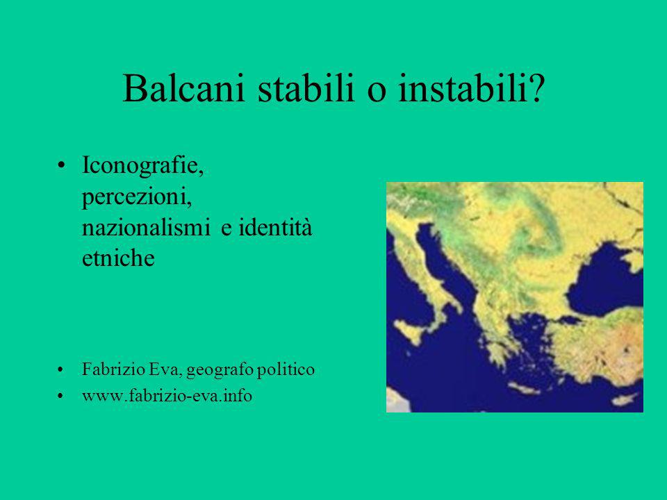 Balcani stabili o instabili