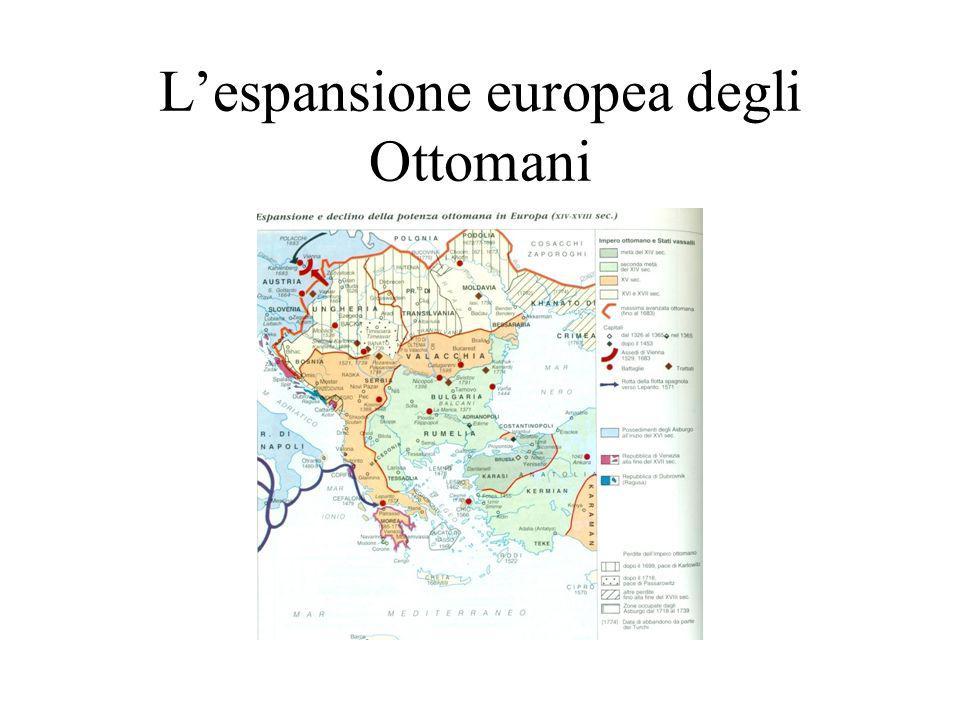 L'espansione europea degli Ottomani