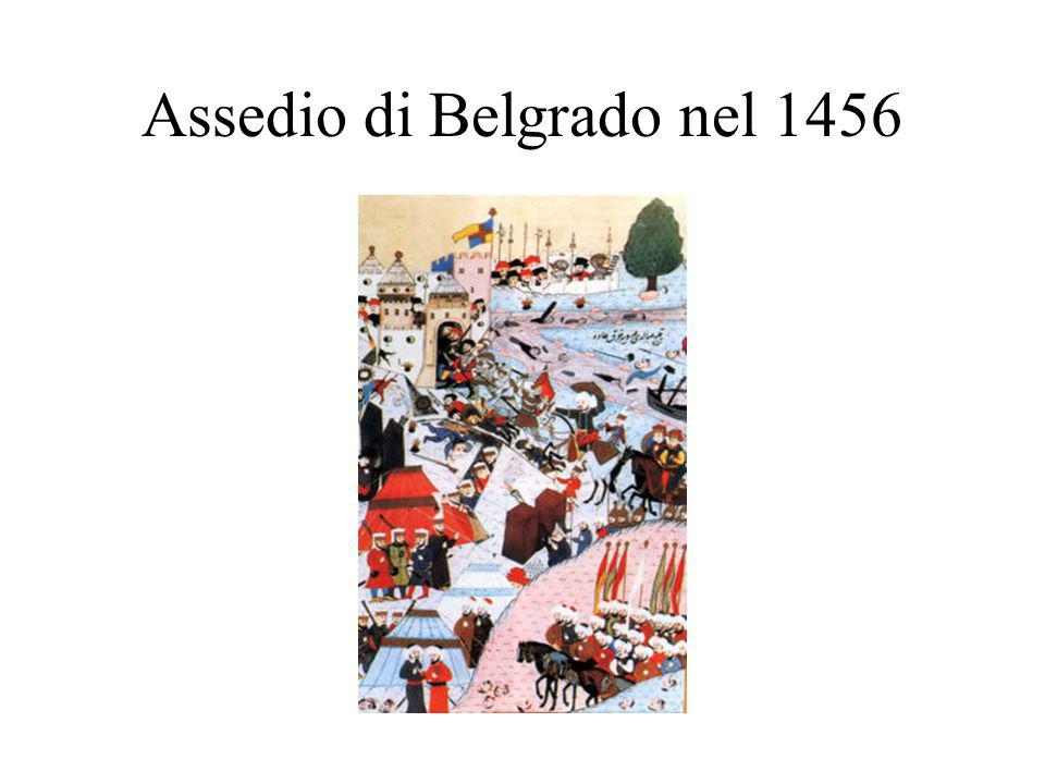 Assedio di Belgrado nel 1456