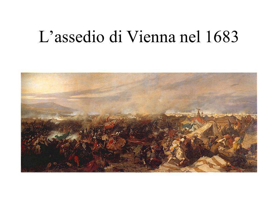 L'assedio di Vienna nel 1683