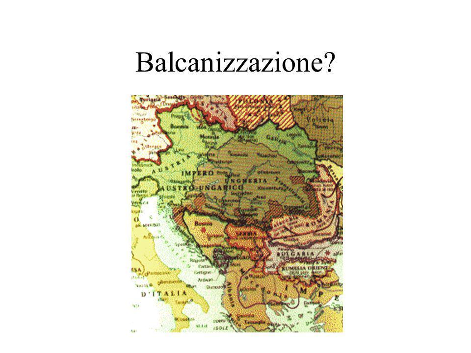 Balcanizzazione