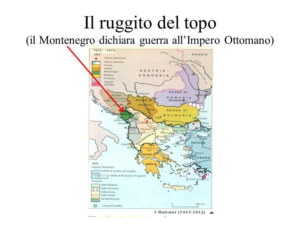 Il ruggito del topo (il Montenegro dichiara guerra all'Impero Ottomano)
