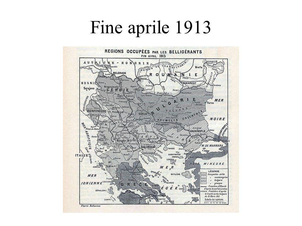 Fine aprile 1913