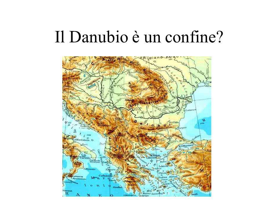 Il Danubio è un confine