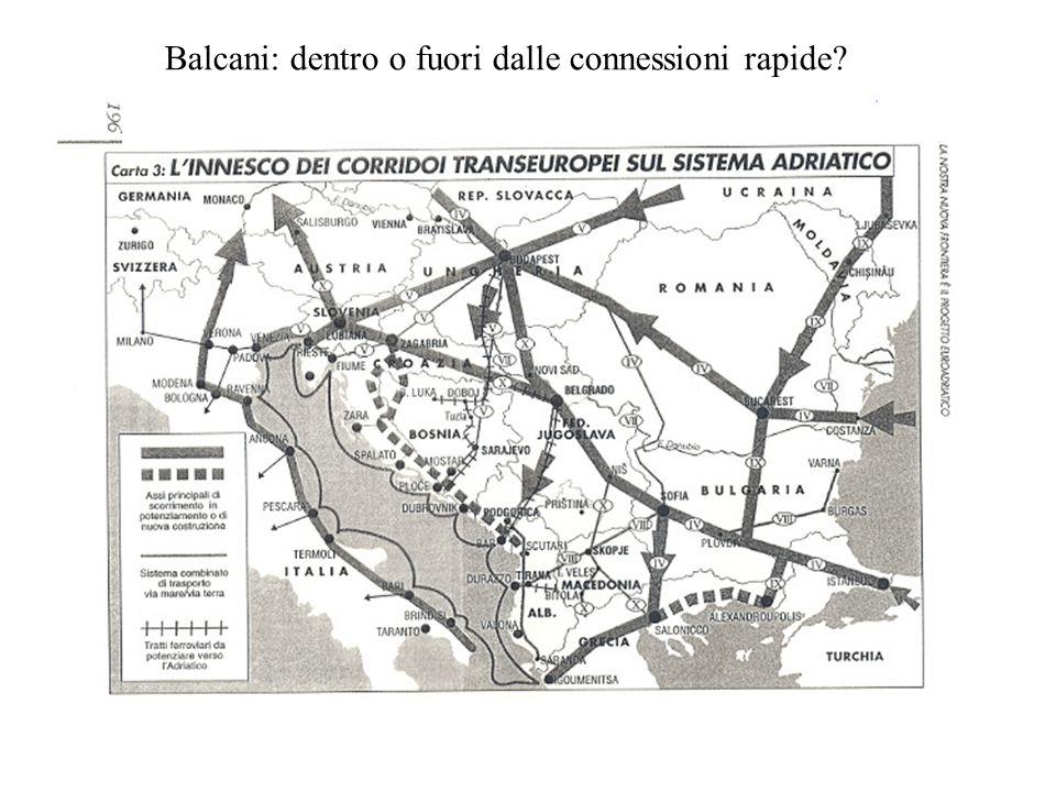 Balcani: dentro o fuori dalle connessioni rapide