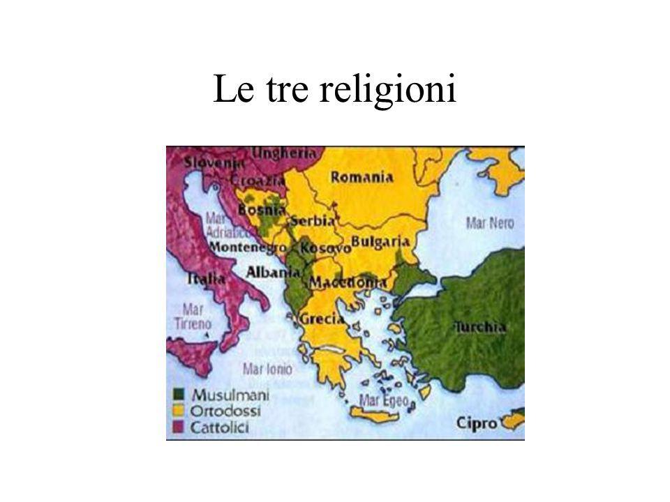 Le tre religioni