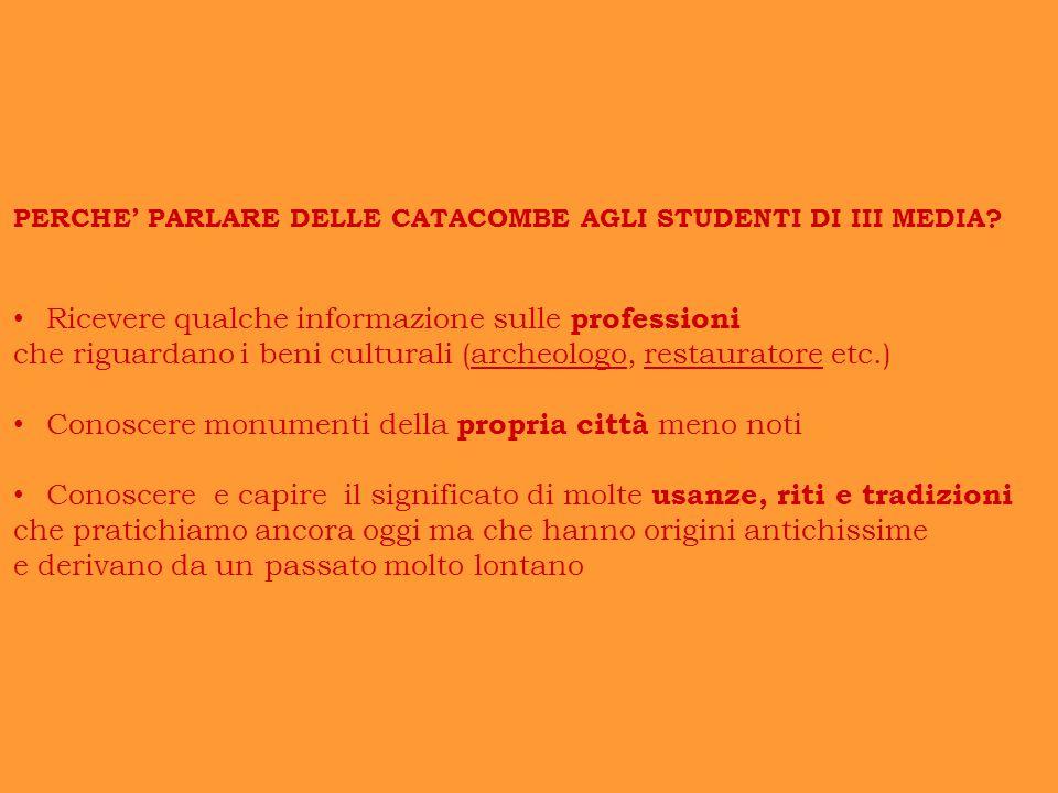Ricevere qualche informazione sulle professioni