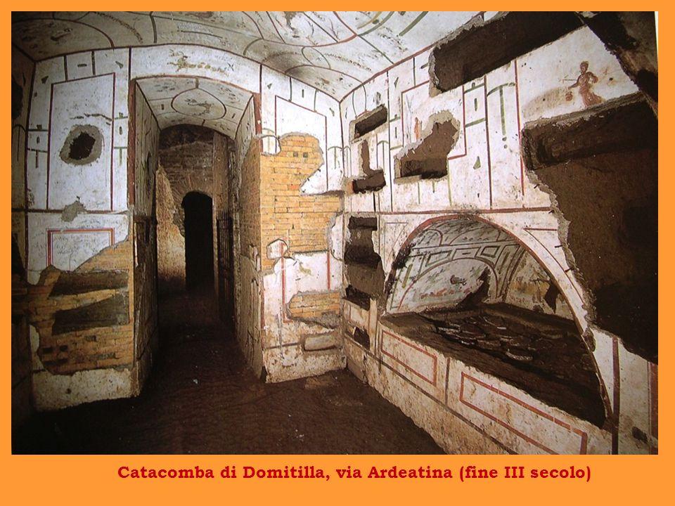 Catacomba di Domitilla, via Ardeatina (fine III secolo)