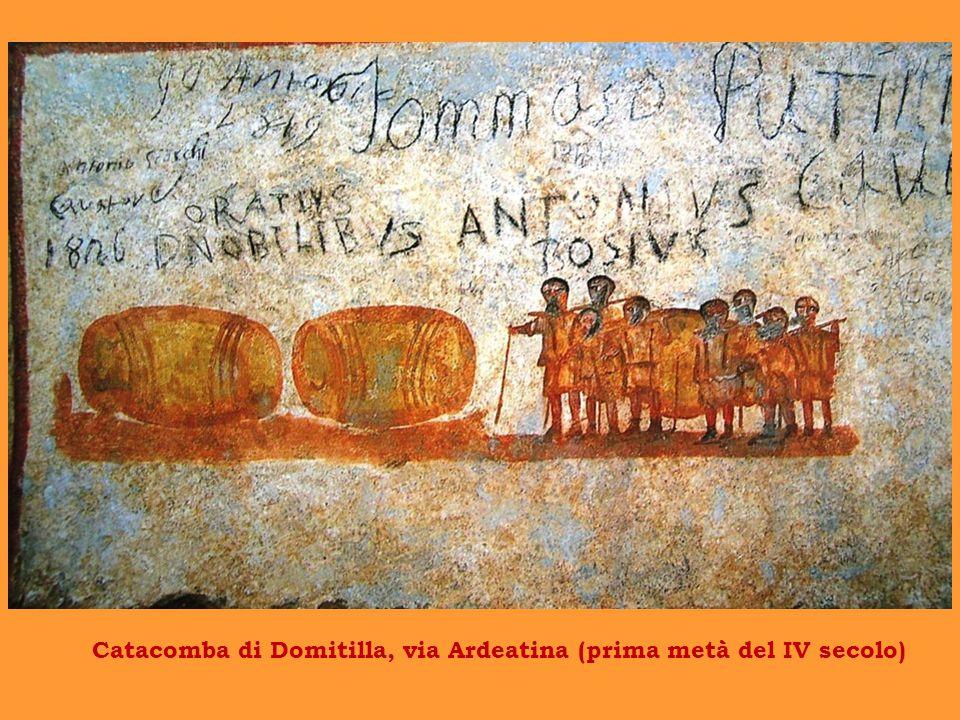 Catacomba di Domitilla, via Ardeatina (prima metà del IV secolo)