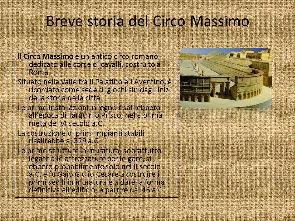 Breve storia del Circo Massimo