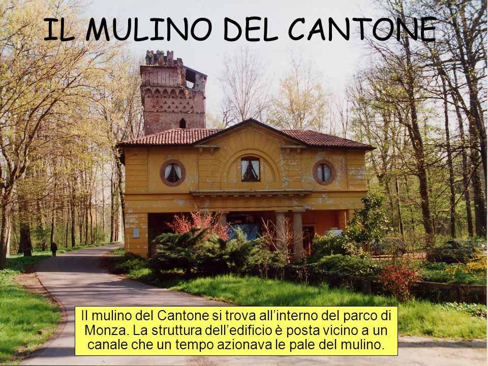 IL MULINO DEL CANTONE