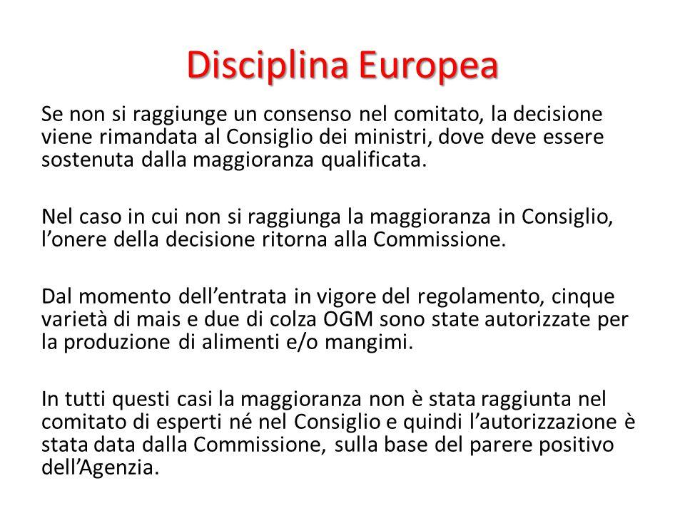 Disciplina Europea