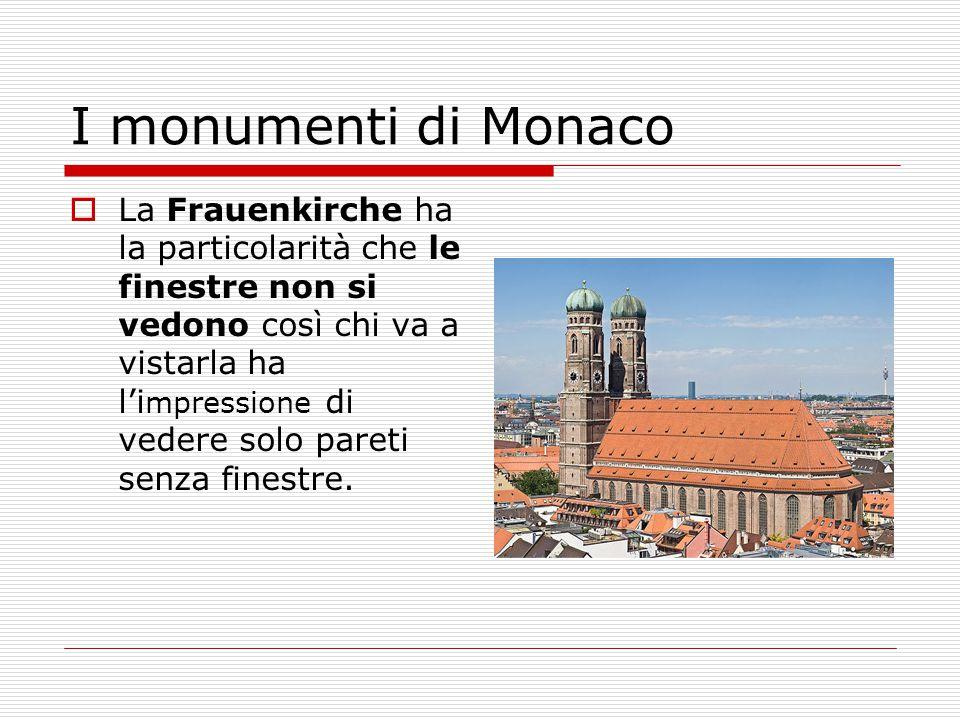 I monumenti di Monaco