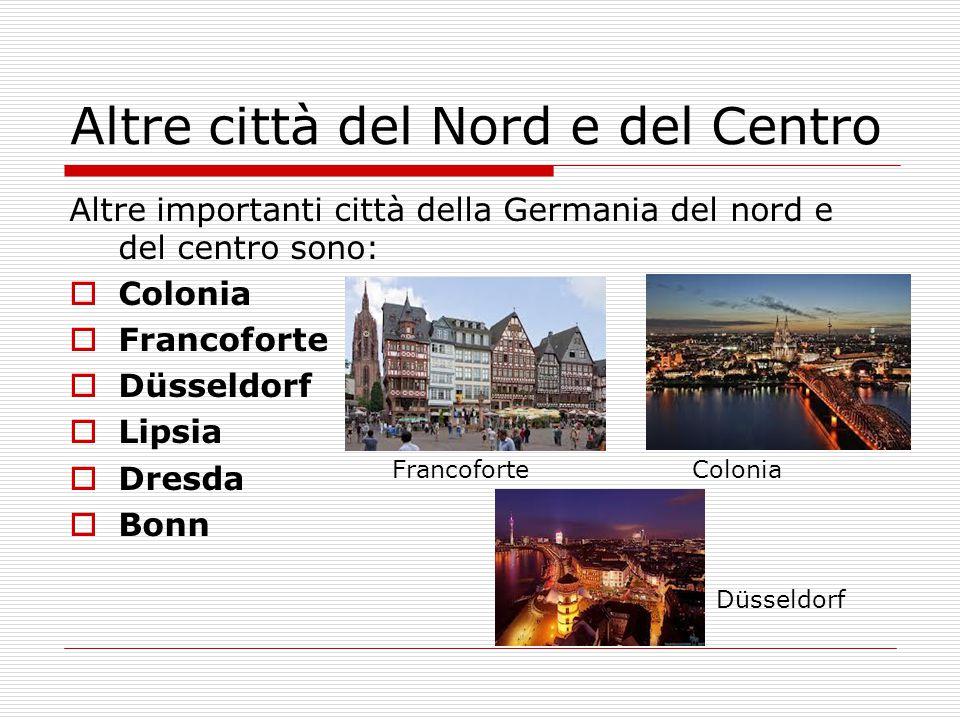 Altre città del Nord e del Centro