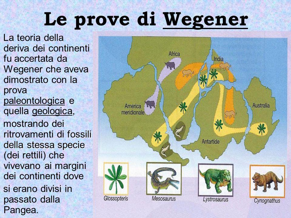 Le prove di Wegener