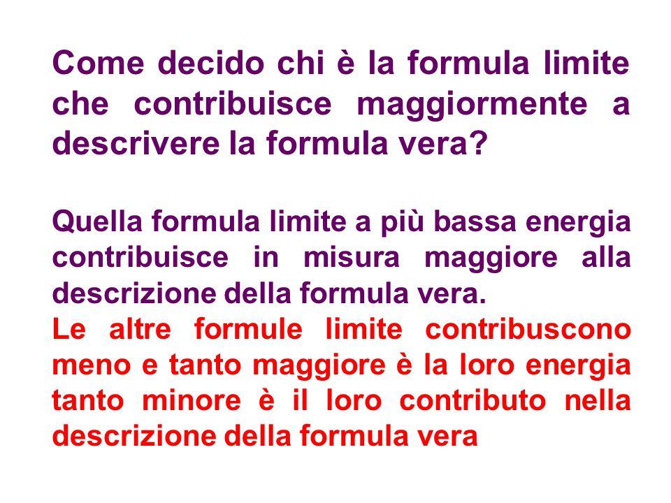 Come decido chi è la formula limite che contribuisce maggiormente a descrivere la formula vera