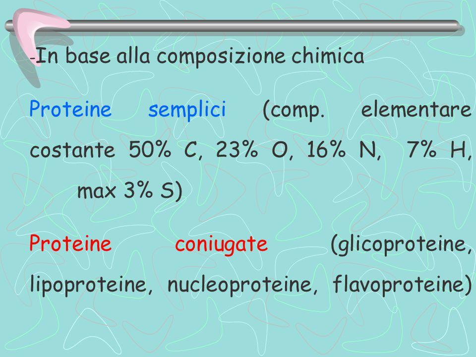 -In base alla composizione chimica