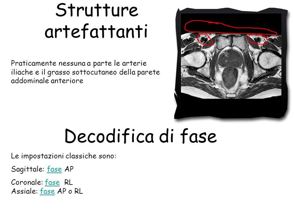 Strutture artefattanti Decodifica di fase
