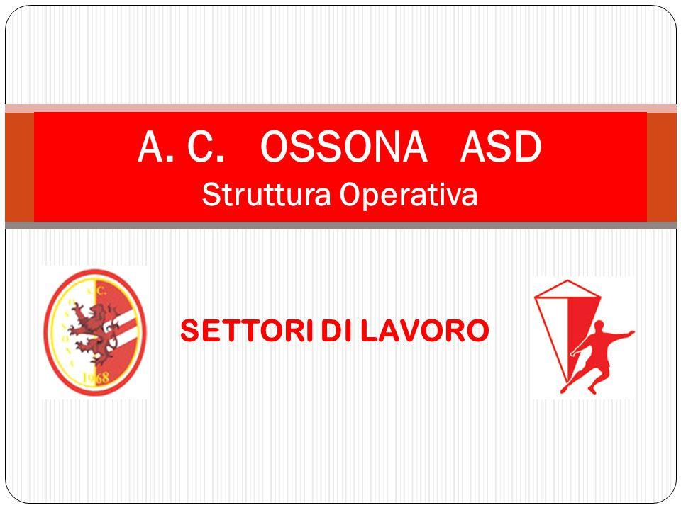 A. C. OSSONA ASD Struttura Operativa