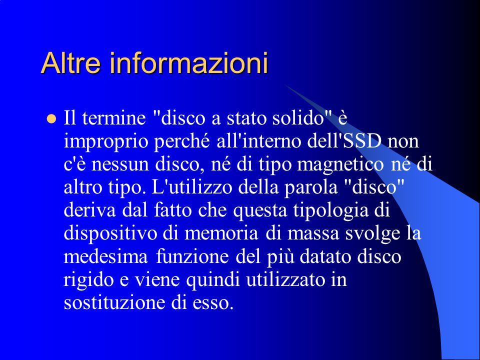 Altre informazioni
