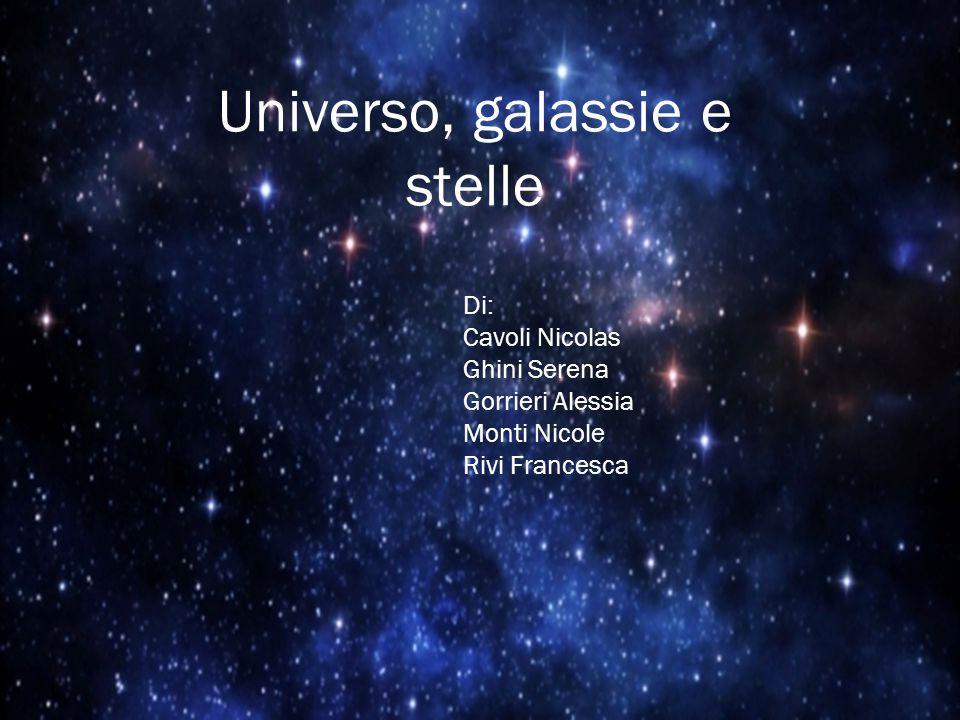 Universo, galassie e stelle