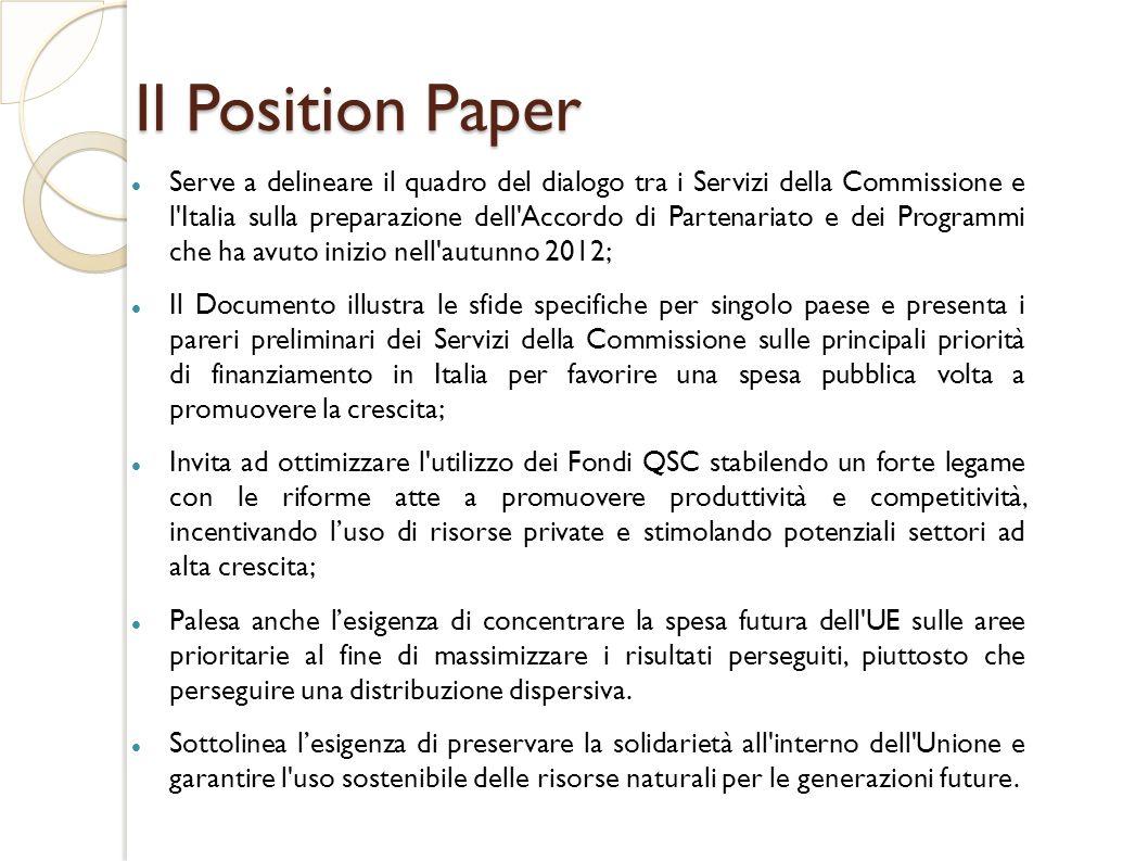 Il Position Paper
