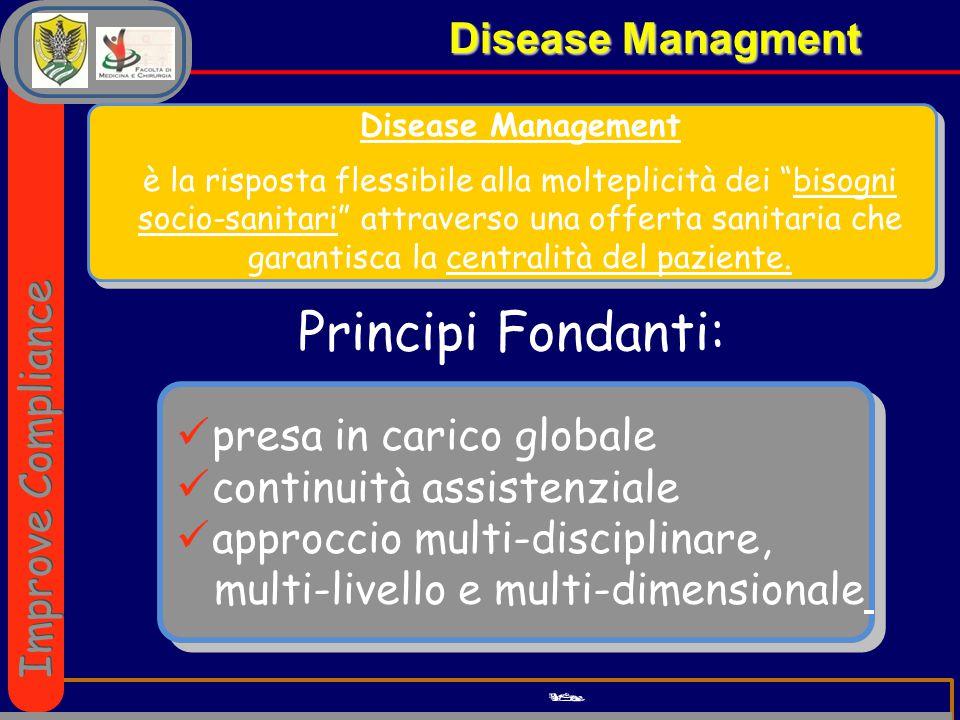 Principi Fondanti: Disease Managment Improve Compliance