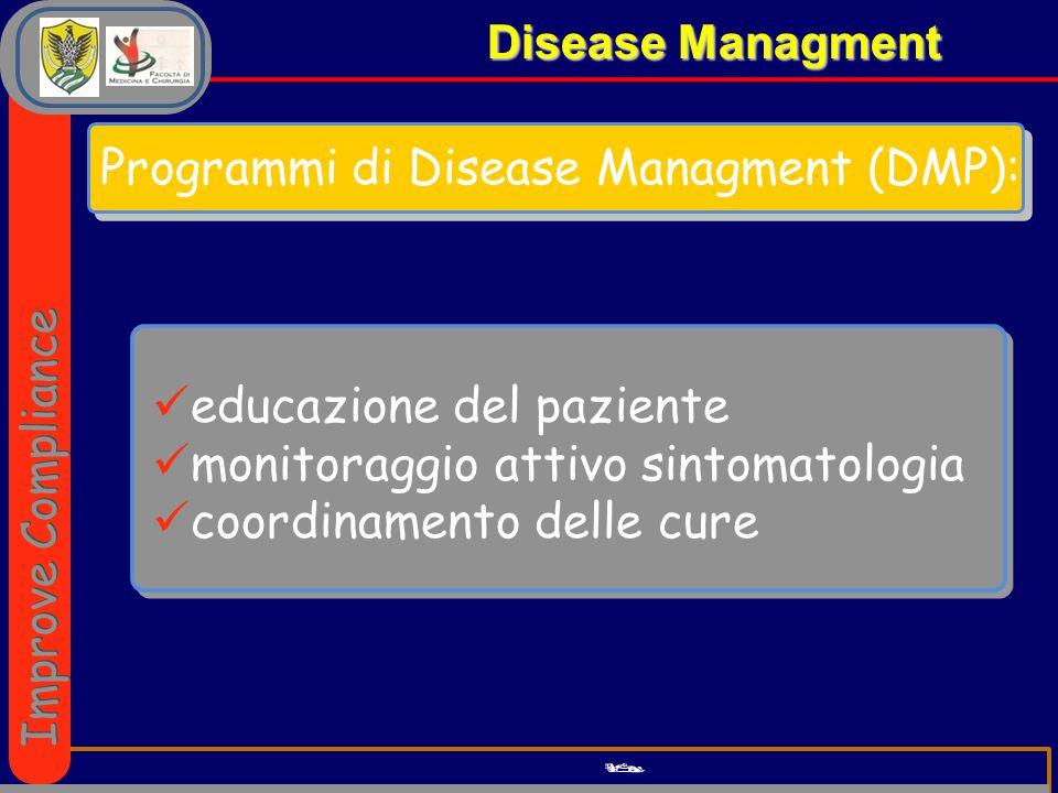 Programmi di Disease Managment (DMP):