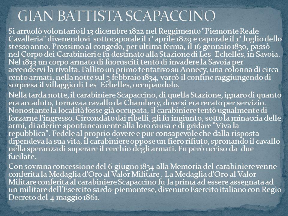 GIAN BATTISTA SCAPACCINO