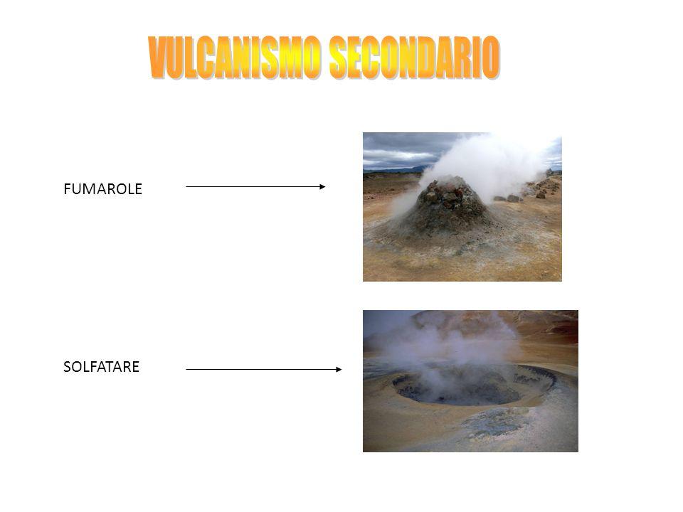 VULCANISMO SECONDARIO