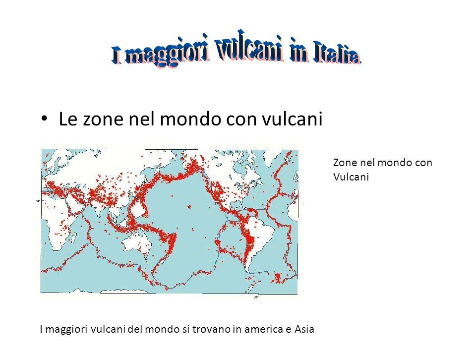 I maggiori vulcani in Italia