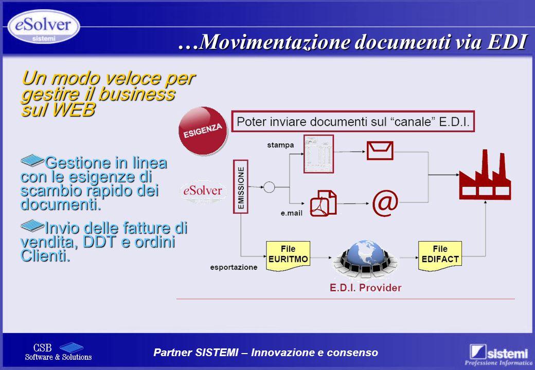 …Movimentazione documenti via EDI