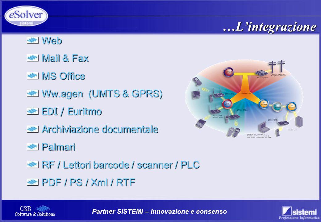 …L'integrazione Web Mail & Fax MS Office Ww.agen (UMTS & GPRS)
