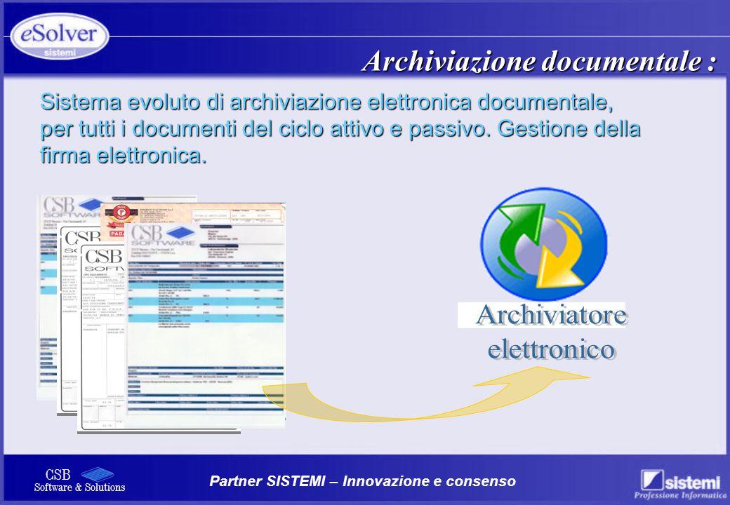 Archiviazione documentale :