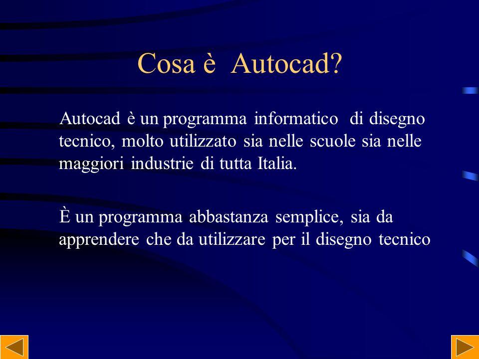 Cosa è Autocad
