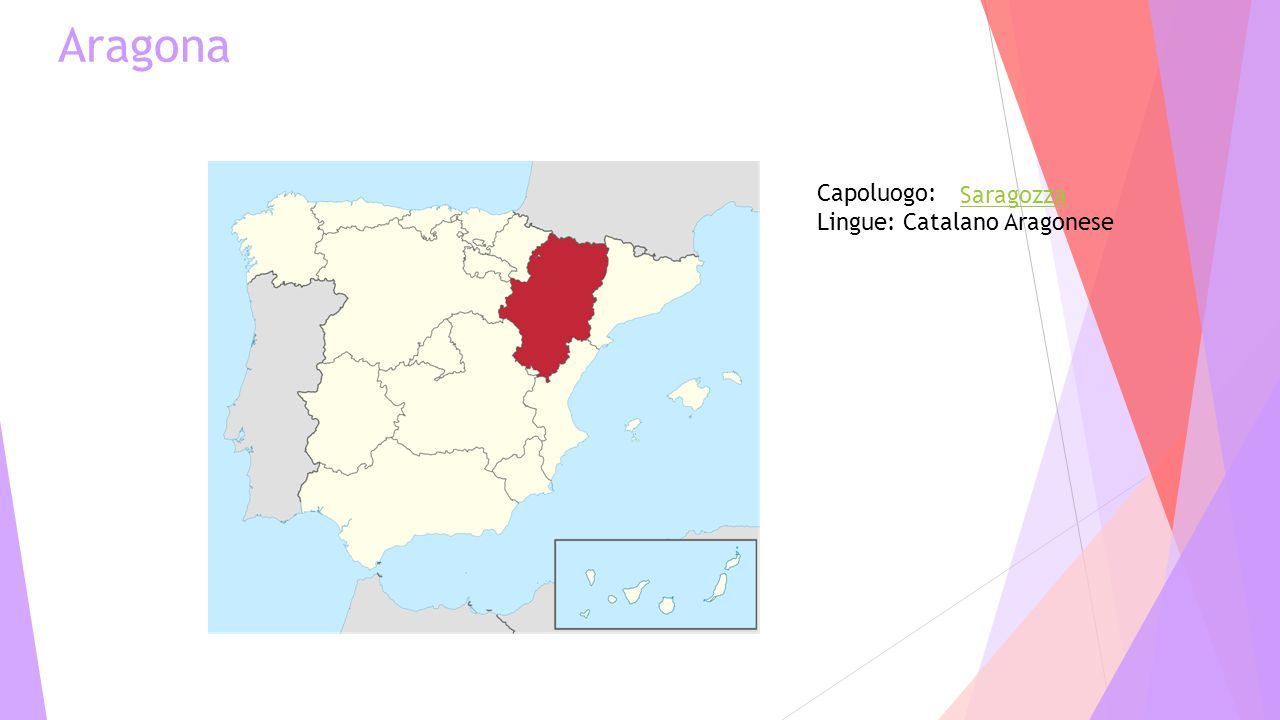 Aragona Capoluogo: Lingue: Catalano Aragonese Saragozza