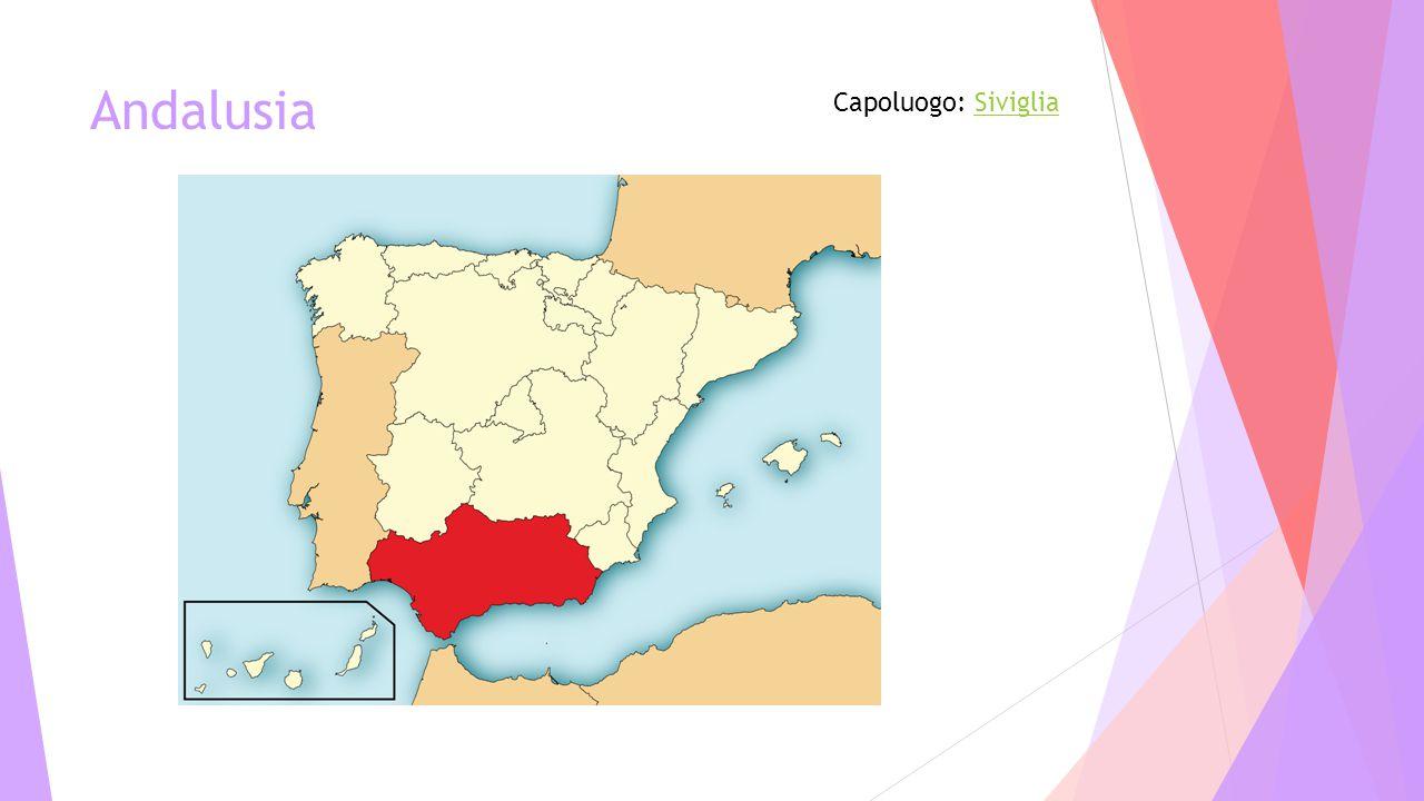 Andalusia Capoluogo: Siviglia